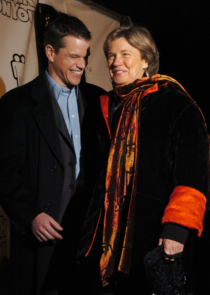 Matt Damon and his mom, Nancy, arrived in NYC together for the premiere of Stuck on You in December 2003.