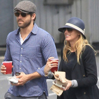 Blake Lively and Ryan Reynolds in Canada Pictures