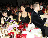Gisele Bundchen and Tom Brady were seated with Liv Tyler. Billy Farrell/BFAnyc.com