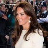 Kate Middleton Dress With Slit at Thirty Club (Video)