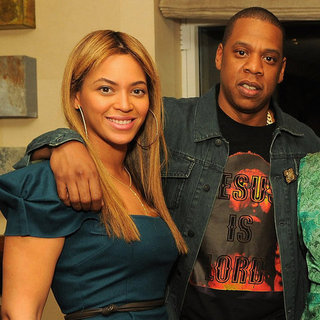 Jay-Z and Beyonce Knowles Pictures at LA Reid Book Party