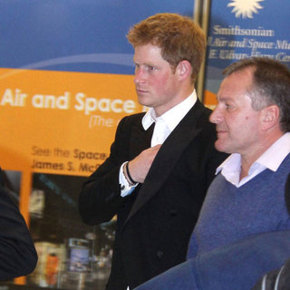 Prince Harry Pictures at Washington DC Airport