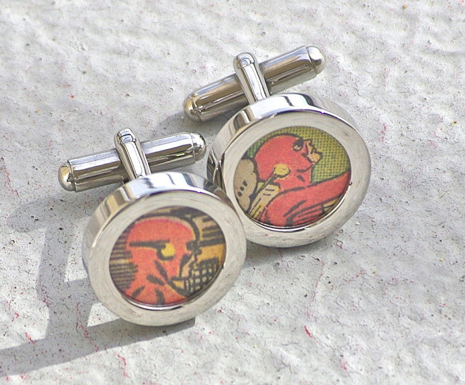 Flash Gordon Cufflinks ($32)