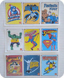 Vintage Superhero Stickers