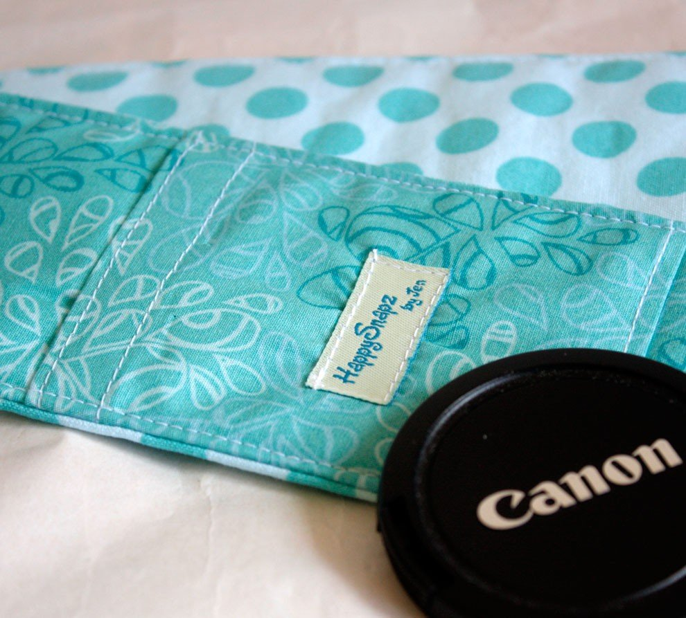 Teal Polka-Dot Cover ($19)