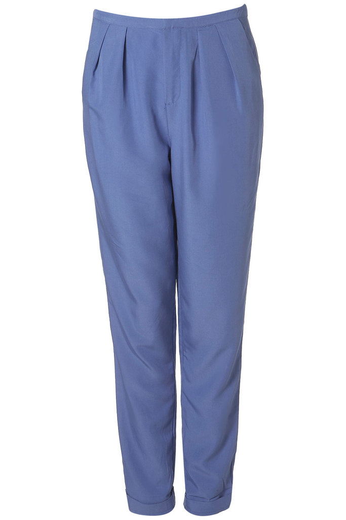 Swap out your classic trousers for ones with a prettier hue.  Fluid Tapered Trousers ($50)