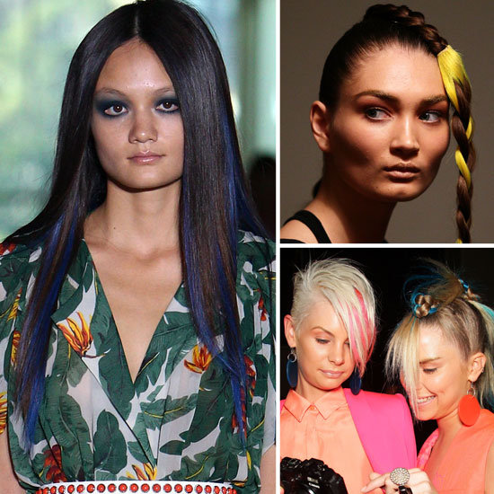 2012 MBFWA Trendspotting: Rainbow Bright Hair