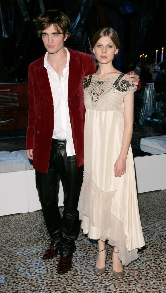 Robert Pattinson linked up with Clemence Poesy, his Harry Potter and the Goblet of Fire costar, at their premiere in London during November 2005.