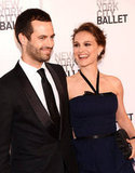 Natalie Portman was accompanied by Benjamin Millepied at the NYC ballet.