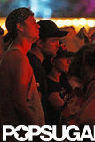 Robert Pattinson and Kristen Stewart enjoyed watching live music together at Coachella in 2012.