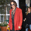 Johnny Depp Pictures Leaving Claridge&#039;s in London