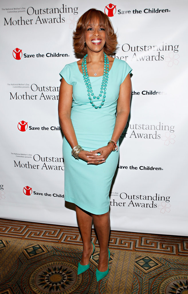 Gayle King at the Outstanding Mother Awards in NYC.