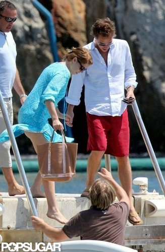 Princess Beatrice and Dave Clark boarded a boat off the coast of Cannes in July 2011.