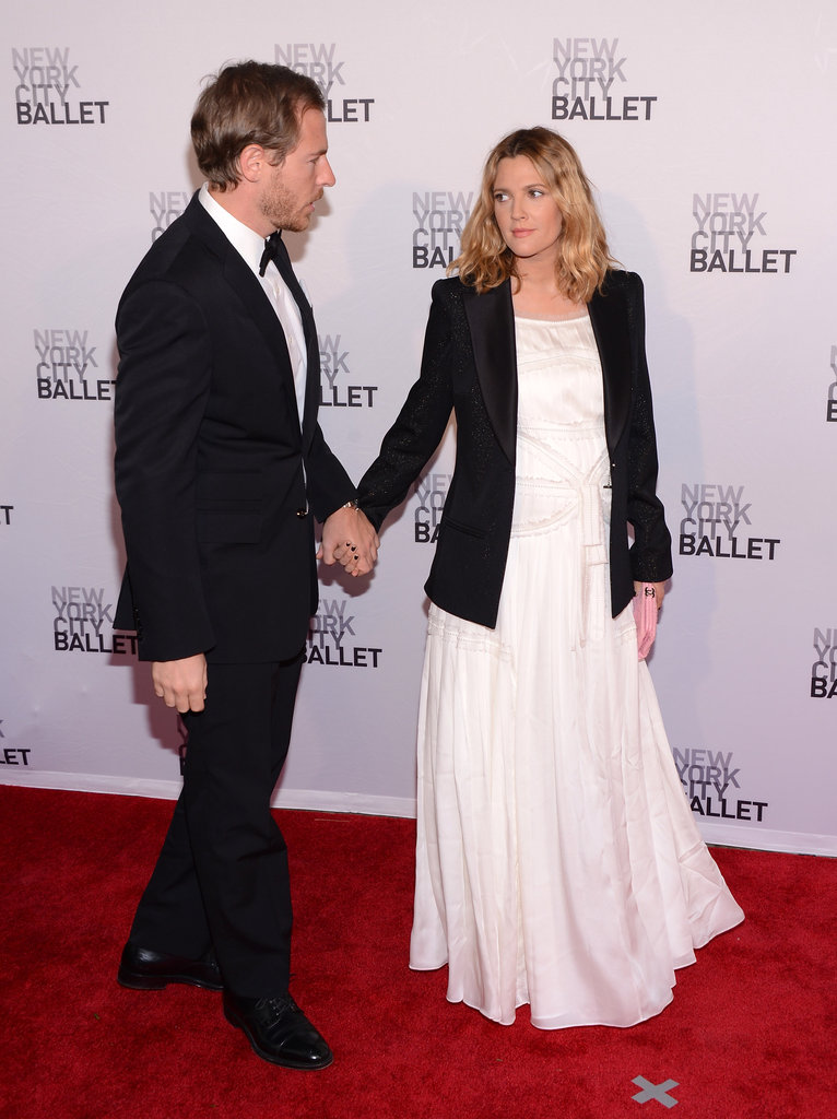 Drew Barrymore led the way for fiancé Will Kopelman at New York City Ballet's 2012 Spring Gala.