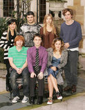 Robert Pattinson and his Harry Potter and the Goblet of Fire costars Katie Leung, Stanislav Ianevski, Clemence Poesy, Rupert Grint, Daniel Radcliffe, and Emma Watson were together for an October 2005 photocall.