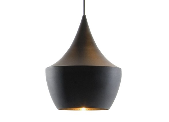 Instead of a traditional Moroccan pendant, we're intrigued by designs that fuse the look with modern gothic influences, like Tom Dixon's Beat Light Fat.