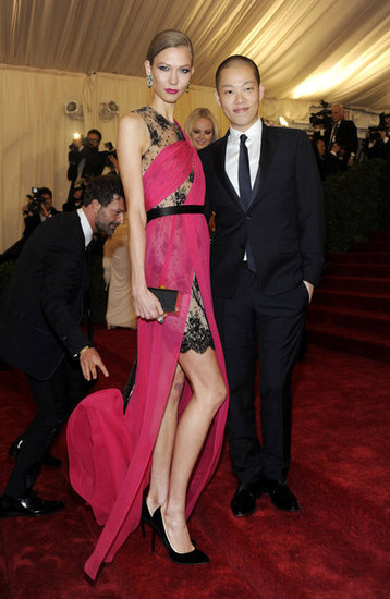 Karlie Kloss and Jason Wu