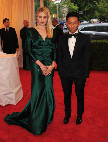 Greta Gerwig and Prabal Gurung