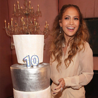 Jennifer Lopez Celebrates 10 Years of Glow Perfume