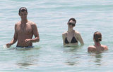 Bikini-Clad Anne Hathaway Takes a Break From Les Mis to Tan