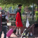 Lea Michele and Cory Monteith Filming Glee Finale Video