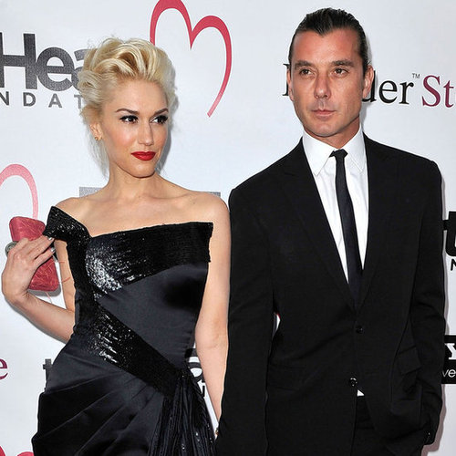 Gwen Stefani and Gavin Rossdale Heart Foundation Pictures
