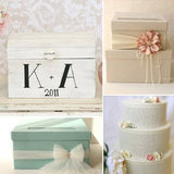 13 Gorgeous Wedding Card and Money Boxes