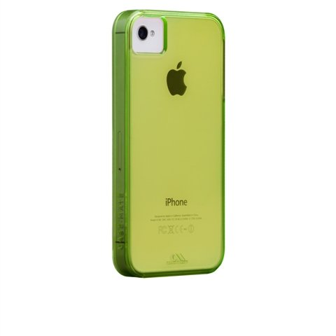Case-Mate 100% Recycled Plastic Case for iPhone 4/4S in Lime Green ($30)