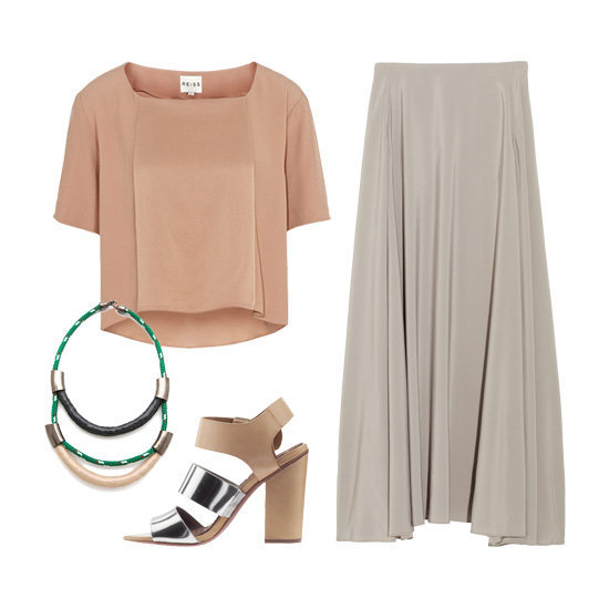 Styling tip: 3 ways to wear Spring's pretty blush + taupe color combo.