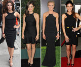 Find the perfect LBD with these celeb-inspired cutaway dresses.