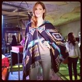 We added this poncho to our Fall shopping list while at Target's preview.
