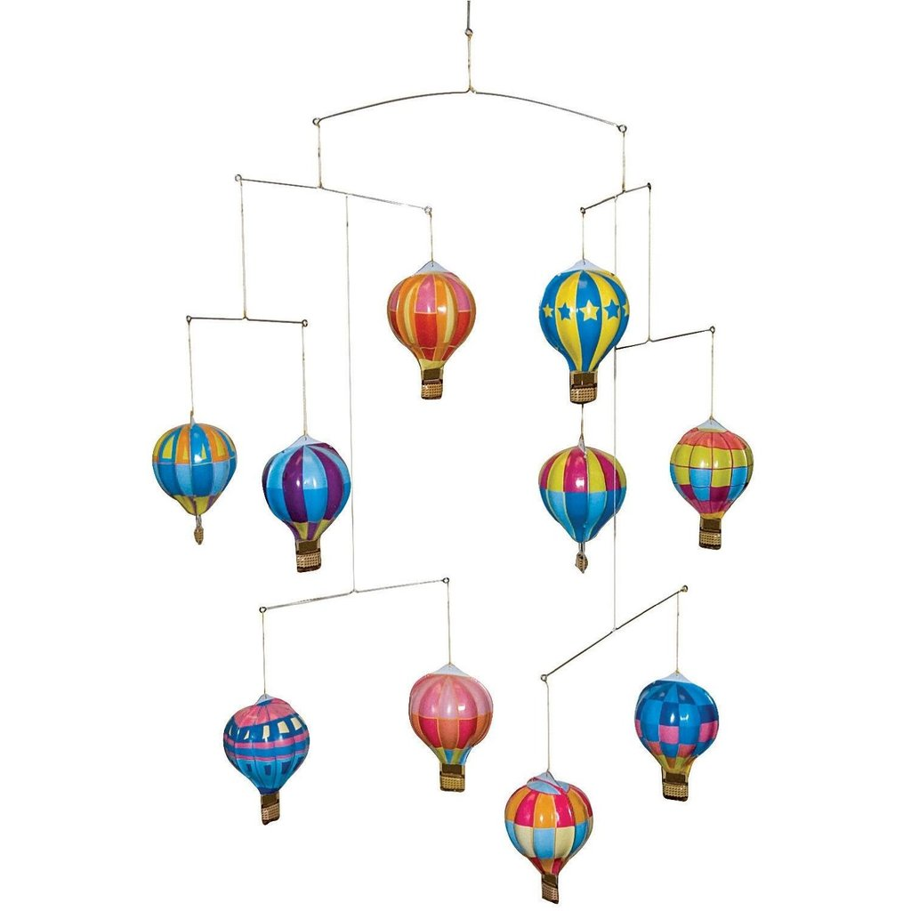 Schylling Tin Hot Air Balloon Mobile ($34)