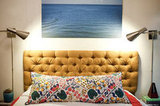 There are several ways to approach a DIY tufted headboard, but we're anxious to try this one.  Source: Little Green Notebook