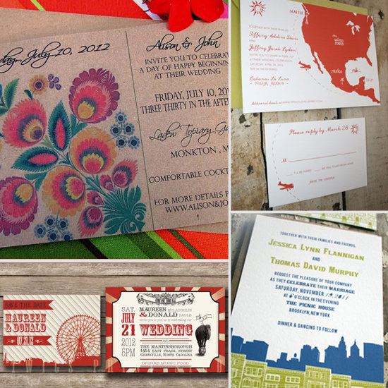 35 Unique and Beautiful Wedding Invitations