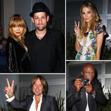 Nicole Richie Joins Joel Madden and The Voice Coaches For a Live Show Party