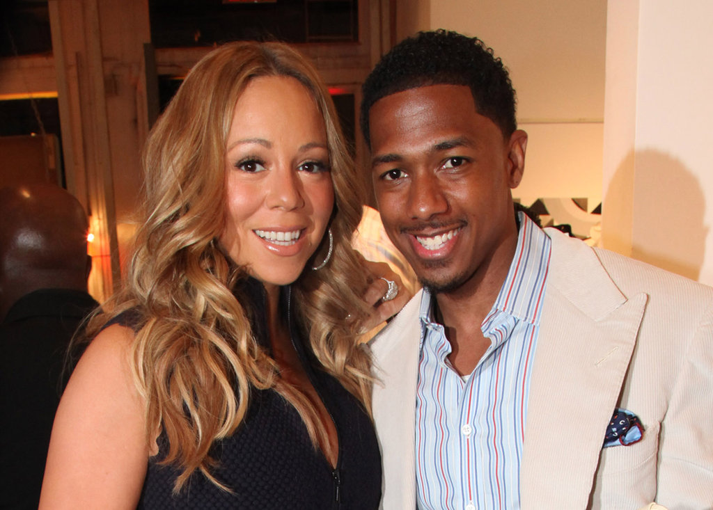 Mariah Carey and Nick Cannon attended the Project Canvas Exhibition & Art Gala in NYC.