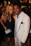 Mariah Carey and Nick Cannon stayed together at the Project Canvas Exhibition & Art Gala in NYC.