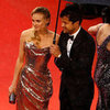 Diane Kruger Gold Dress at Cannes Pictures With Josh Jackson