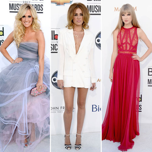 Red Carpet Wrap Up From the 2012 Billboard Music Awards: Taylor Swift, Carrie Underwood, Miley Cyrus and more!