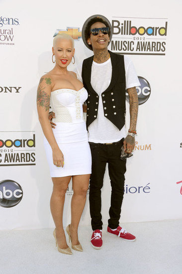 Amber Rose and Wiz Khalifa(2012 Billboard Music Awards)