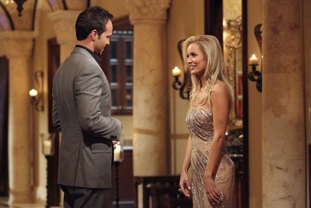 John and Emily Maynard on The Bachelorette.