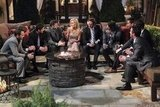 John, Alessandro, Alejandro, Stephen, Joseph, Arie, Chris, Kalon, and Emily Maynard on The Bachelorette.