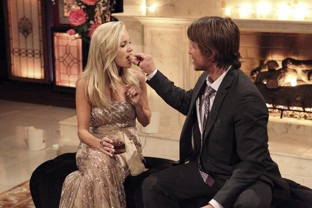 Alessandro and Emily Maynard on The Bachelorette.
