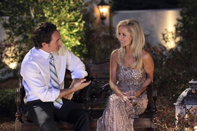 Joseph and Emily Maynard on The Bachelorette.