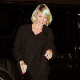Cameron Diaz Leaving Drew Barrymore's Engagement Party