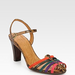 The multicolored straps and sweet silhouette have a fun retro sensibility. Add them to your midiskirts and fit-and-flare dresses to further the vibe.