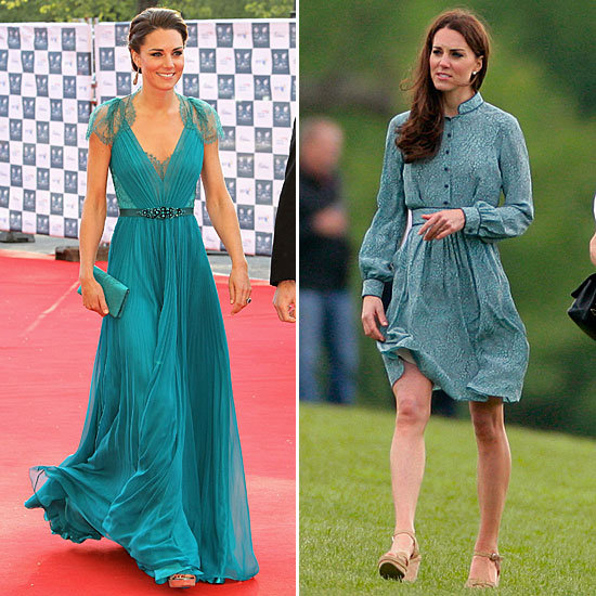 Kate Styles Up Two Flawless Takes on Teal — See All the Gorgeous Details