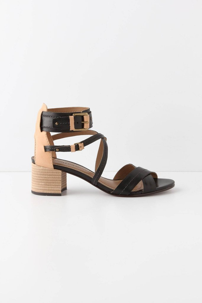 The straps on this pair upgrade the minimalist silhouette with on-trend detail. They're just polished enough to pair with your working wardrobe.  Schuler & Sons Prainha Sandals ($168)