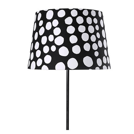 Ikea always offers a great deal, and this Dottevik Shade ($20) is no exception to the rule. We love the inventive take on traditional polka dots in this print.