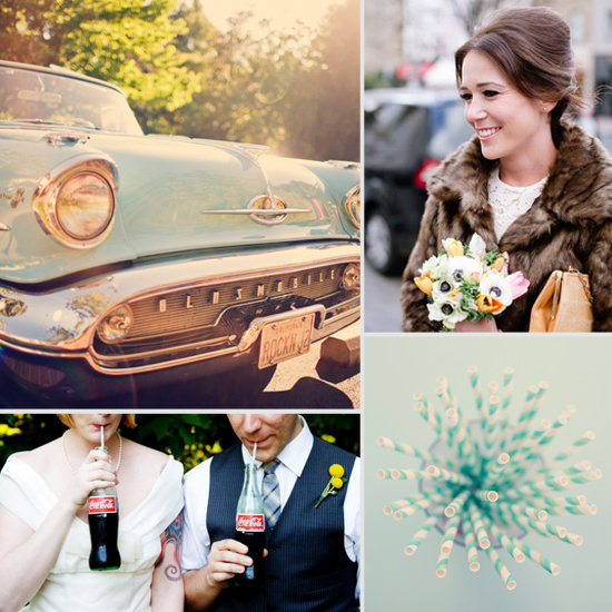 Claire And Jims 1950s American Gangster Themed Wedding By Ynation Gangsters Weddings